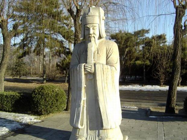 Ming Tombs Statue