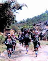 Travel Photos of Hani Minority Women Carrying Baskets