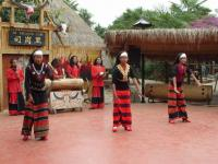 Travel Photos of Hani Minority Aboriginal Dance