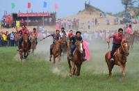 Exciting and Lively Mongolian Nadam Fair
