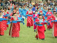 dance on naadam festival