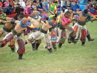 Naadam Festival  local dance