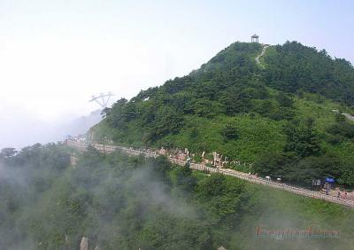 Photo of Mount Tai