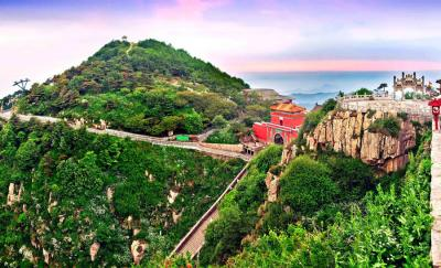 Overlooking Mt. Tai Bixia Temple