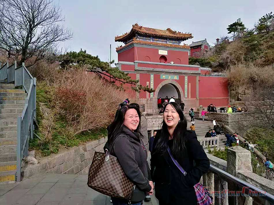 Visit Mount Tai, one of the great mountains in China