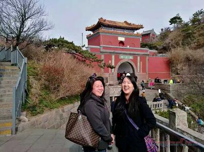 Client's Mount Tai Travel Photo