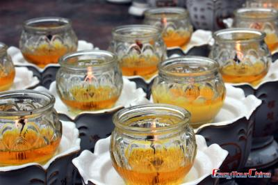 Candles of Mt. Emei