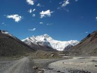 Road to Mt. Everest from Shigatse