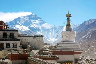 Rongbuk Monastery & Mt. Everest