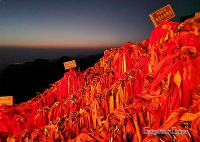Sunrise Photo in Mount Hua