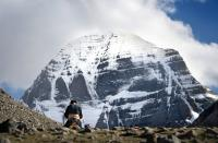 The sacred Mount Kailash in Tibet