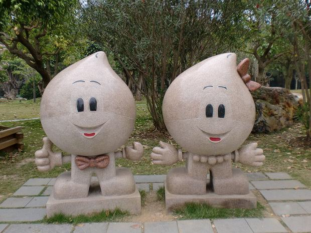 Mt. Qingxiu Cartoon Statues