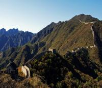 Mutianyu Great Wall Under Rising Sun