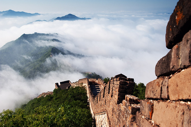 A Splendid View in Mutianyu Great Wall