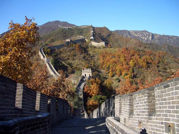 Hiking and camping at the Great Wall