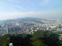 N Seoul Tower cityscape