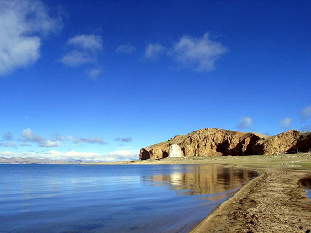 Namtso Lake Bank