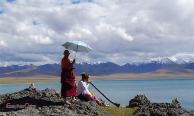 Tibetan Buddhist Ritual at Namtso