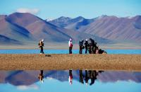 Namtso Lake Visitors