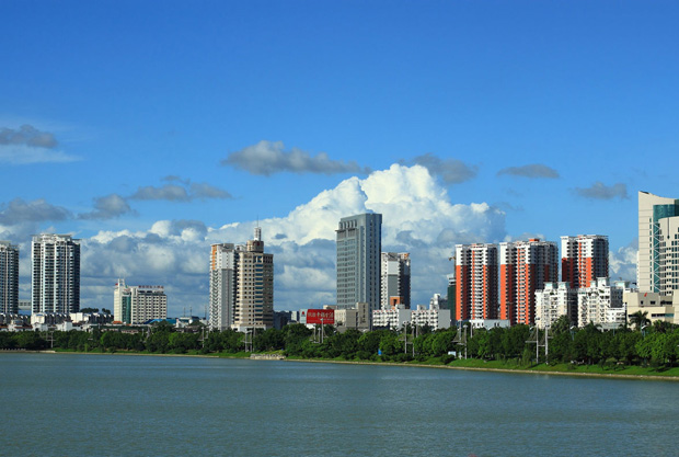 nanning city view