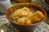 Fried Tofu in Chicken Soup