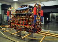 National Folk Museum of Korea coffin on display