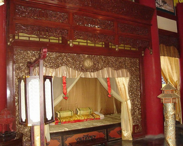 Bedroom in Ancient Times,Zhuhai New Yuanming Palace Travel ...