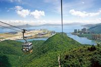 Ngong Ping 360 Hong Kong Vertical View