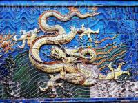 Nine Dragon Wall Scupture