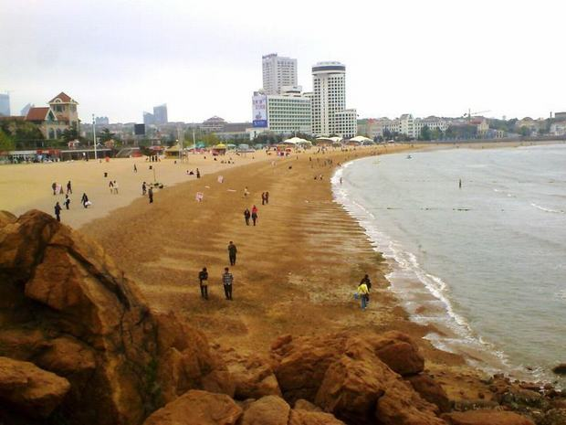 Qingdao No.1 Bathing Beach Sealine