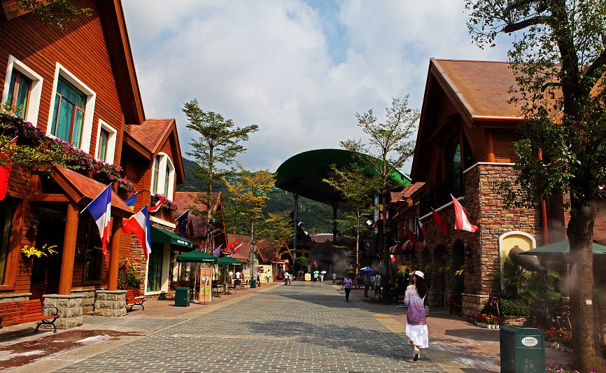 Oct East Theme Park European Style Town Shenzhen Attractions Travel Photos Of Oct East Theme