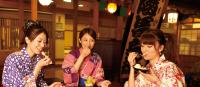 Happy time at Oedo Onsen Monogatari