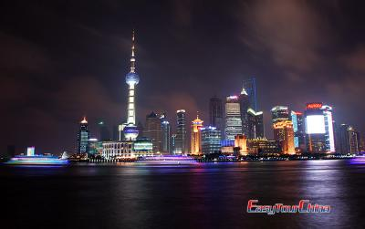 Huangpu River Night View Image