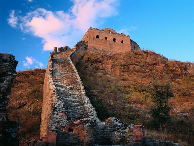 Overhanging Great Wall Ruins