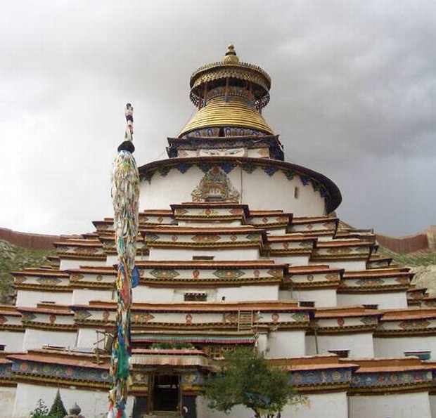 Palkhor Monastery Front View