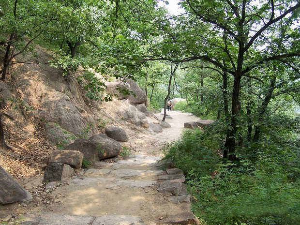 Panshan Mountain Path