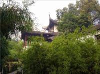 Pavilion of the Surging Waves Green Vegetation