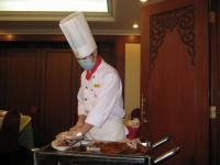 Slice The Peking Duck