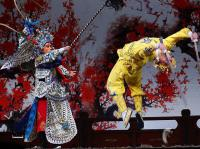 A Scene from Peking Opera
