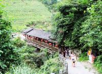 The walkway of  Ping An Zhuang Village