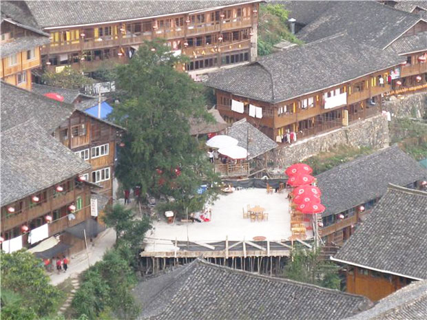 The Overview of Ping An Zhuang Village