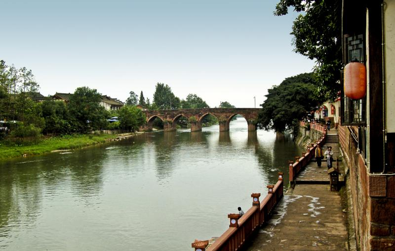 Exploring chengdu s backcountry pingle old town easy for Cheserex piscine