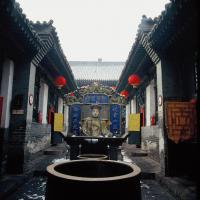 Pingyao City God Temple Sight