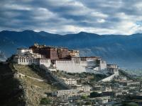 Potala Palace with Mountains Surrounding
