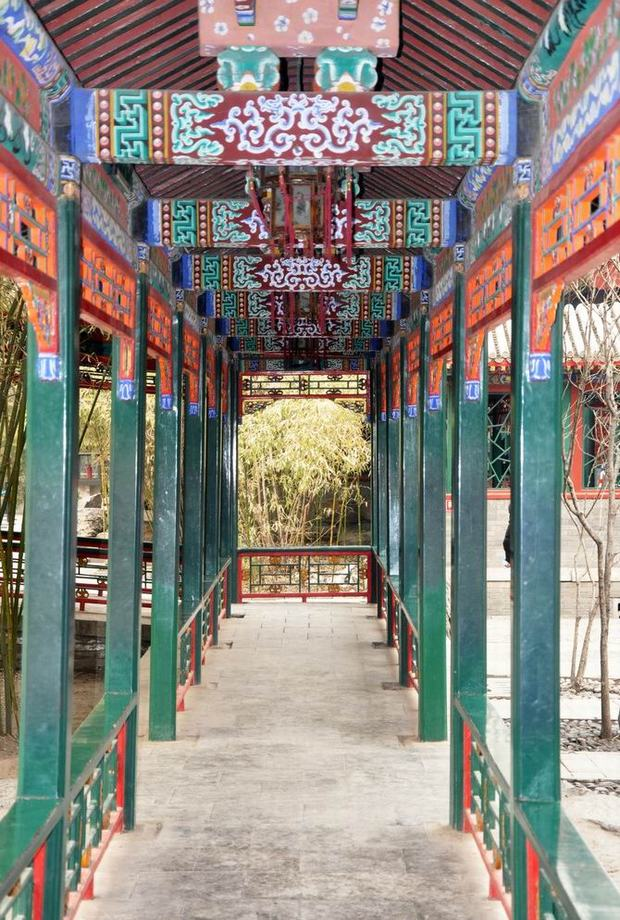 Prince Gong's Mansion Corridor