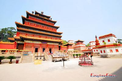 Mahayana Pavilion of Puning Temple Chengde