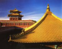 Putuozongsheng Temple Golden Rooftop