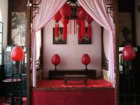 Qiao Family Compound traditional bed