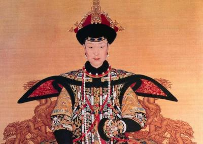 China Qing Dynasty Queen Painting