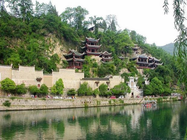 Qinglong Cave Ancient Complex Beauty
